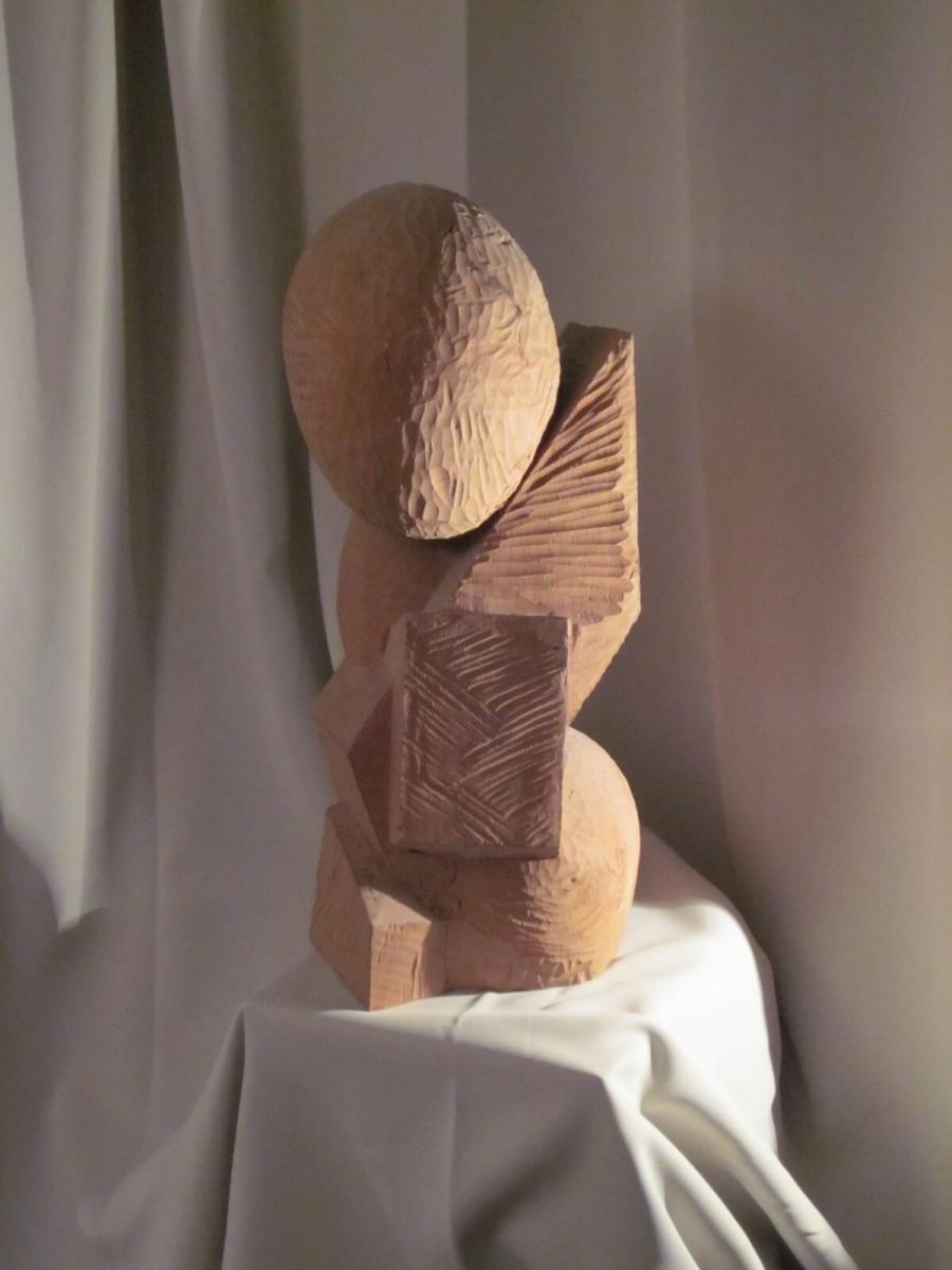 1973 rund und eckig, Linde, 48 cm
